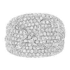 Runde mit echten Diamanten Ringe aus Gelbgold für Damen