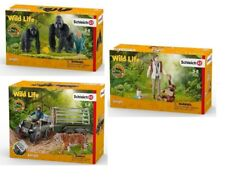 SCHLEICH COLLECTION WILD LIFE 42353 + 42351 + 42382 - NEW / FACTORY SEALED