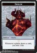 EMBLEM OB NIXILIS, REIGNITED Battle For Zendikar Magic MTG card (GH)