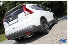 Fox Edelstahl Komplettanlage ab Kat. für Honda CR-V 2,0l IV ab Bj 2012 2x90mm