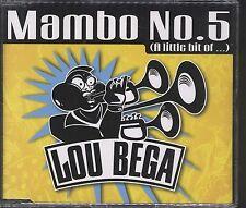Lou Bega - Mambo No 5 CD (single)Mambo No 5