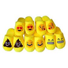 Zapatillas de casa hombre, mujer divertidas. emojis, pantuflas invierno algodón