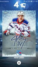 DIGITAL CARD 2019 Topps Skate Jimmy Vesey Auto DIGIAL SIGNATURE CARD