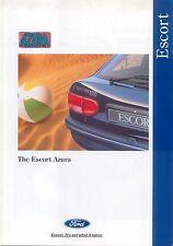 Ford Escort Azura May 1994 Original UK Sales Brochure Pub. No. FA 1180