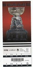 2013 CHICAGO BLACKHAWKS VS BOSTON BRUINS STANLEY CUP FINALS TICKET STUB GAME #7