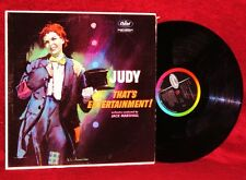 LP JUDY GARLAND JUDY! THAT'S ENTERTAINMENT 1960 CAPITOL