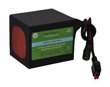 AegisBattery 12V 10Ah Lithium Ion Battery ebike/scooter/radio/robots and more
