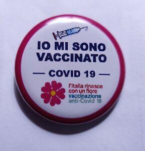 Spilla pins patch infermieri - soccorritori - medici - oss - VACCINO FATTO
