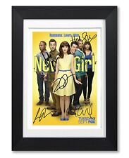 NEW GIRL CAST SIGNED POSTER TV SHOW SERIES SEASON DVD PRINT PHOTO AUTOGRAPH GIFT