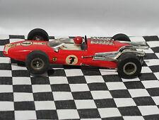 Fleischmann Ferrari #7 Rojo década de 1960 1:32 Usado Sin Caja