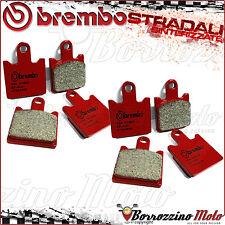 FRONT BRAKE PADS BREMBO SA RED SINTERED 07KA28SA KAWASAKI Z750 R-ABS 2011
