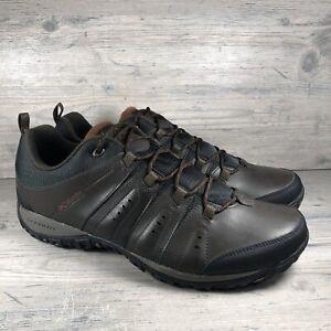 Men's Columbia Woodburn II Low Waterproof Hiking Shoes Sz 16