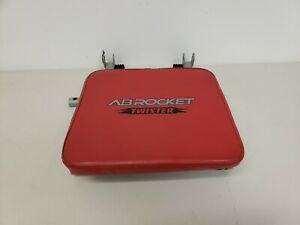 Ab Rocket Twister Abdominal Trainer Red Replacement Seat Pad Mechanism ONLY