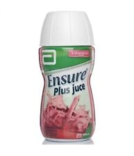6 x Ensure Plus Juce Juice 220ml Strawberry Nutrition Fitness Supplement Drink