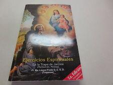 Ejercicios Espirituales En la Trapa de Jacona 5a Edicion paperback with CDs