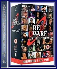RED DWARF - JUST THE SHOWS - SERIES 1 - 8 ***BRAND NEW & SEALED DVD BOXSET**