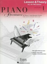 Piano Adventures: Lesson and Theory Book: Level 1 by Faber Piano Adventures (Paperback, 2013)