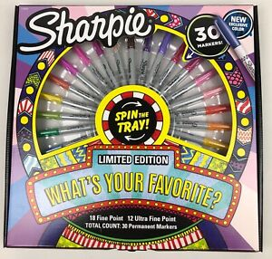 SHARPIE 30 Count Set LIMITED EDITION Factory Sealed ~ BRAND NEW