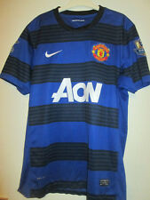 Manchester United 2011-2012 Champions 19 Away Football Shirt Size Large /35051