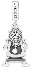 Genuine Chamilia Silver Disney Beauty & The Beast Cogsworth Charm Bracelet Bead