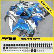 Blue GSXR1000 Fairing Fit Suzuki GSX-R1000 2010 2011 12 13 2009-2016 007 A5