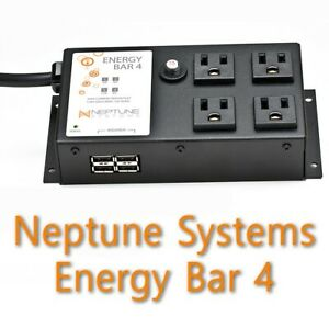 Neptune Systems Apex 4 (Four) Outlet Aquarium PowerStrip EnergyBar EB4