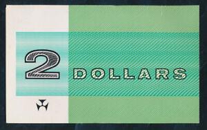 "Australia: 1988 LAST $2 Note Issue ""GREEN NPA FOLDER"". Hard to find!"