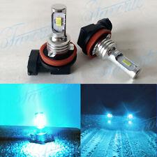New Super Bright H11 H8 H9 LED Headlights Bulb Conversion Kit 60W 8000K Ice Blue