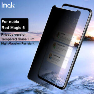IMAK Privacy Full Cover Tempered Glass Film For ZTE nubia Red Magic 6 / 6 pro