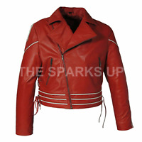 NEW Freddie Mercury Concert Jacket Leather Jacket - ALL SIZES | BEST QUALITY