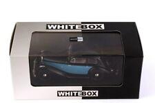 1:43 Hotchkiss 686 GS 1949 Rhd Black Light Blue Black Blue - WhiteBox WB164