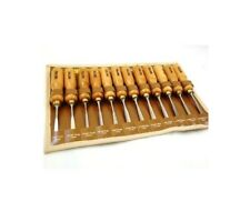 12Pc Professional Hi Quality Carving Chisel Set Toolzone Supplied with a