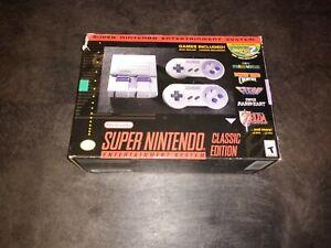 SNES Classic Edition Mini Box!!