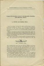 Leon Coutil: Casse-tete en silex trouve a St-Quentin-des-Iles pres Bernay, 1909