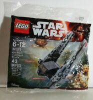 LEGO Star Wars 30279 Kylo Ren's Command Shuttle New Sealed Fast Free Postage