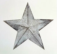 White wooden nautical hanging star wall art-39cm wide NEW