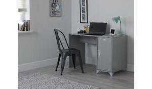 Home Loft Locker Desk - Grey