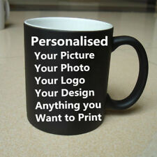 Personalised Custom Color Print Photo Picture Magic Mug Coffee Tea Mug Cup GIFT