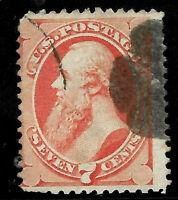 Sc #149 Stanton Fancy Cancel 7 Cent 1870-75 Banknote US 2759