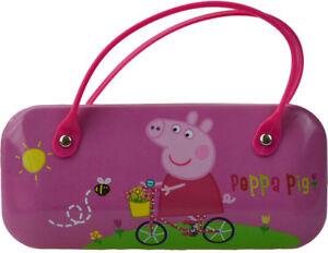 Peppa Pig Glasses Case Childrens Girls Sunglasses Hardcase