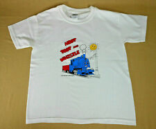 Hoot Toot and Whistle Youth Railroad T-Shirt  Size 10-12