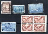 Canada Airmail & Special Delivery mint LHM collection WS13914