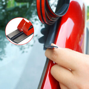 1*Car Windshield Roof Seal Noise Insulation Rubber Strip 2M Sticker Accessories