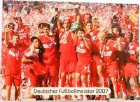 VfB Stuttgart + Deutscher Fußball Meister 2007 + Fan Big Card Edition F2 +