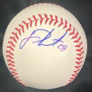 J.D. Martinez signed baseball PSA/DNA Boston Red Sox autographed