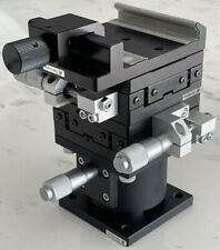 Optosigma Xyz Axis Manual Slide Stages Tbm 403 Tadc With Clamp Table 3 45mm