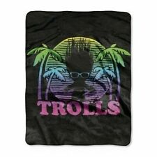 Trolls 'Dark Shade' Silk Touch Throw Blanket 50x60