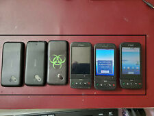 Lot 5 Phones Collectible  3 Google G1, 1Mytouch and Verizon 1 HTC Droid Eris