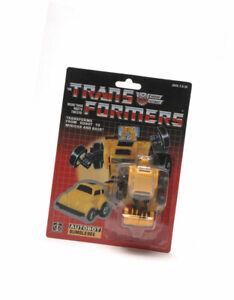TRANSFORMERS G1 REISSUE AUTOBOT MINI-VEHICLE: Bumblebee Christmas Gift Kids