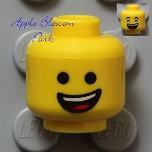 NEW Lego EMMET MINIFIG YELLOW HEAD - Movie Boy/Girl w/Classic Big Happy Smile